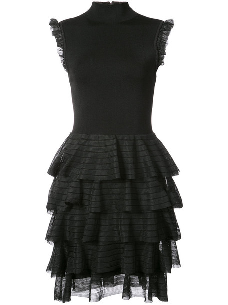 Alice+Olivia dress women spandex black