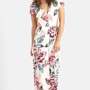 Kendall & Kylie Other   Worn Once Kendall Kylie Floral Jumpsuit   Poshmark