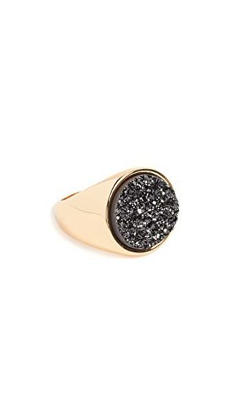 gorjana statement ring statement ring gold black jewels