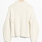 & other stories | criss cross sweater | white