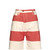 Bliss Bell striped denim shorts