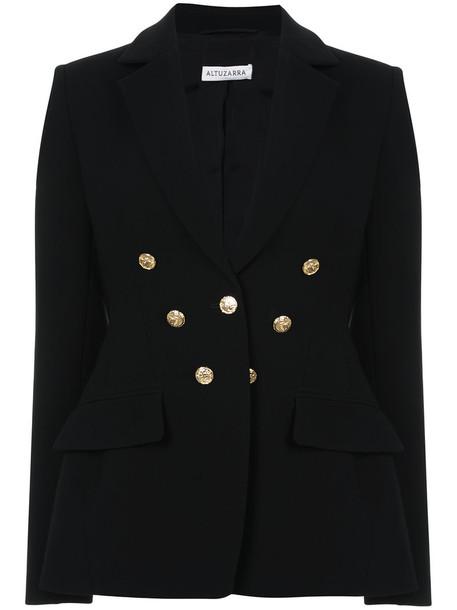 Altuzarra blazer double breasted women black jacket