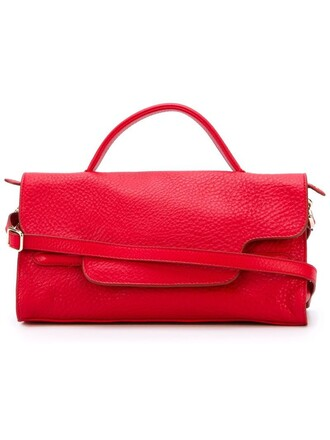 women red bag