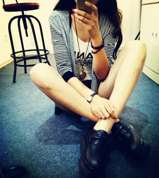shoes black boots boots