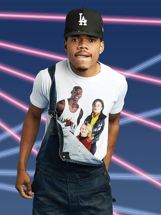 shirt michael jackson michael jordan chance the rapper