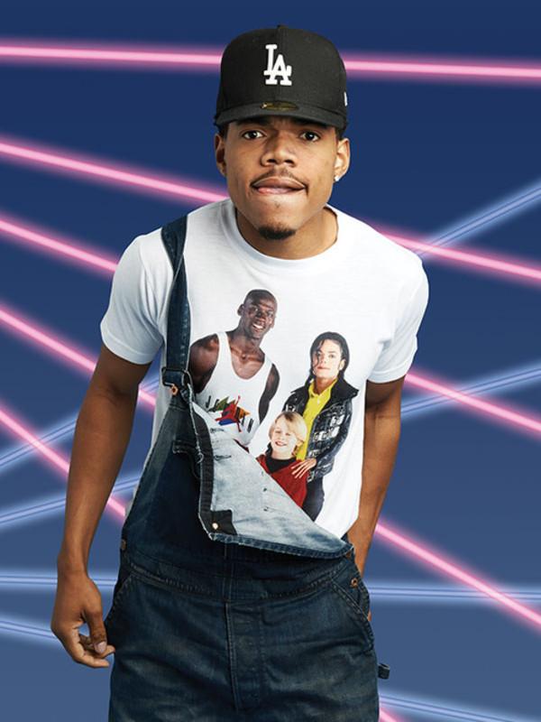 shirt michael jackson michael jordan chance the rapper
