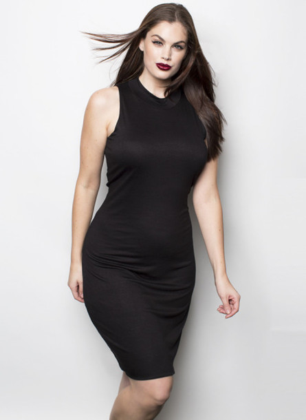 Sexy black dresses for clubbing plus size