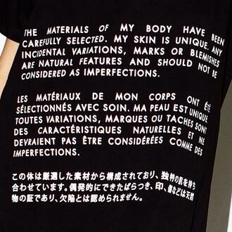shirt tumblr shirt unique unique text graphic
