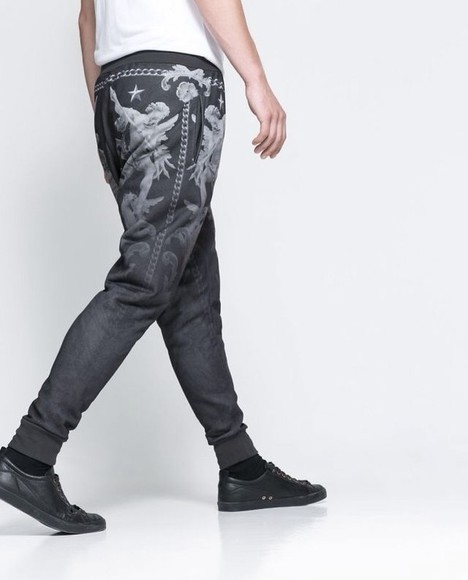 givenchy pyrex black pants pattern hba street