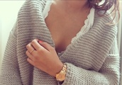 sweater,lace,gold,winter outfits,cute,comfy,cable knit,oversized,fall outfits,gold sequins,knitwear,loose fit sweater,lace flowy top,gold watch,gold ring
