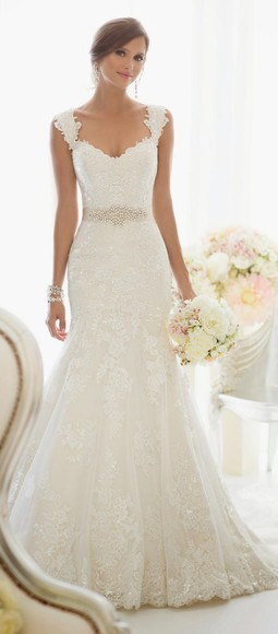 dress wedding clothes: wedding lace wedding dresses