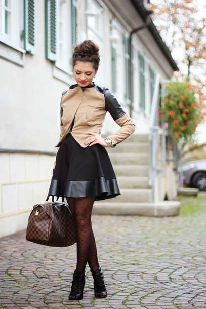 fashionhippieloves jacket skirt shoes bag jewels