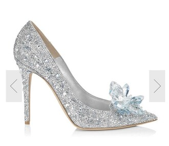 shoes heels cinderella jimmy choo