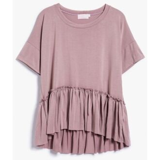 top clothes dusty pink