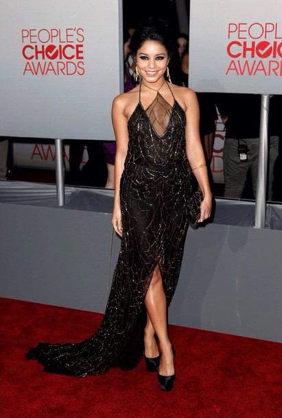 dress vanessa hudgens diamonds