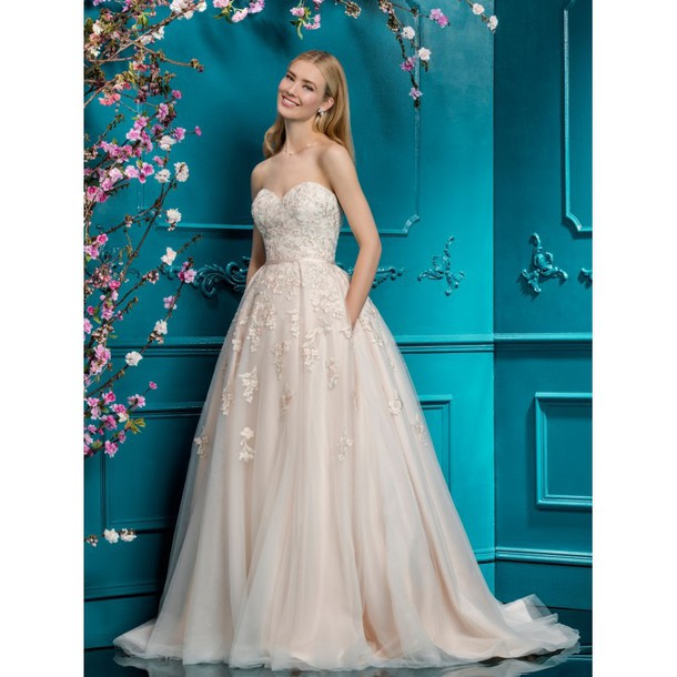 dress tulle dress embroidery wedding dresses wedding dress
