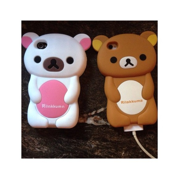 phone phone case bear phone shell case cases