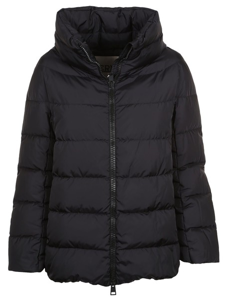 Herno jacket high black