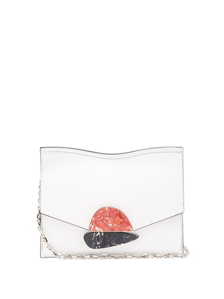 Proenza Schouler leather clutch clutch leather white bag