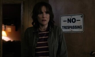 jacket stranger things winona ryder army green jacket top striped top tv show
