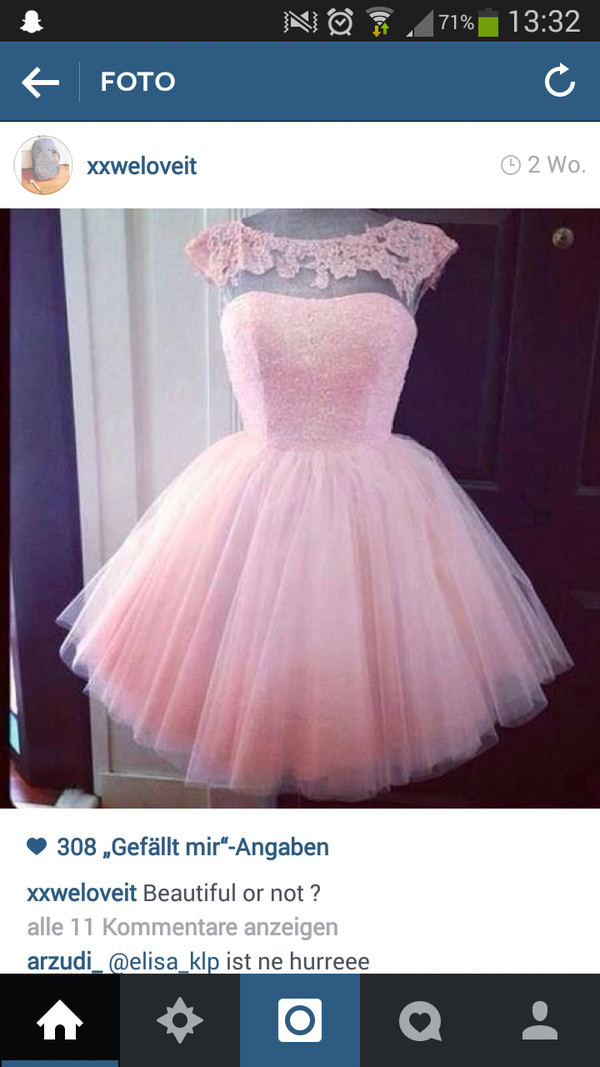cute dress prom dress sweet dress pink dress