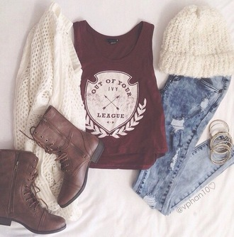 top shirt tumblr burgundy graffic tee hipster weheartit