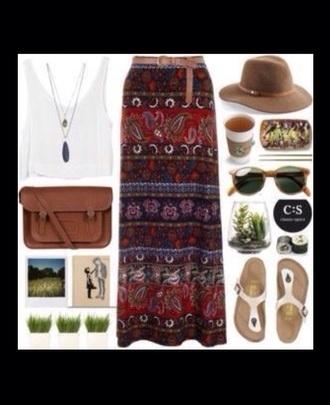 skirt coachella colorful girly coachella outfit