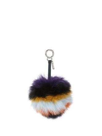 bag charm pompom bag fur fox bag