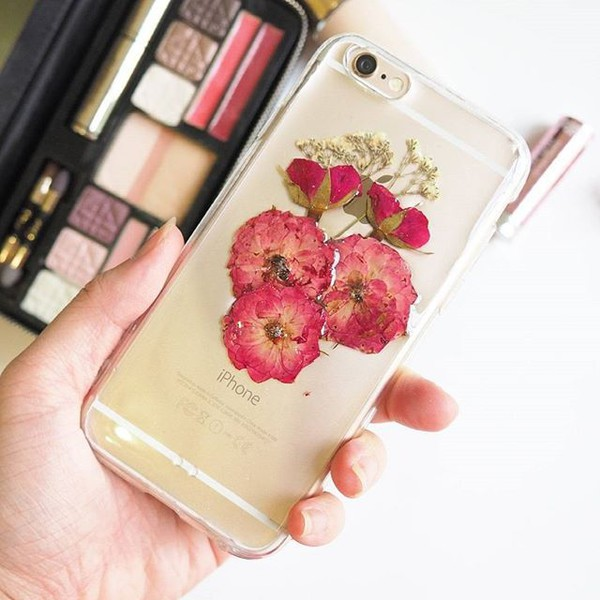 phone cover rose flowers floral pressed flwoers cute trendy iphone case iphone cover design samsung galaxy s6 samsung galaxy s5 samsung galaxy s4 gift ideas handmade handcraft real flowers iphone 6s iphone 6s plus iphone 5s holiday gift red home decor shabibisheep samsung galaxy cases valentines day gift idea mothers day gift idea holiday gift gift ideas christmas accessories