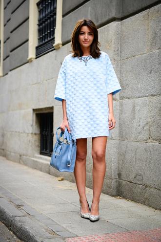 lovely pepa dress shoes jewels bag blue dress periwinkle