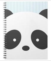 phone cover,panda,panda bear,notebook,cute