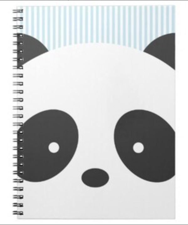 phone cover panda panda bear notebook cute