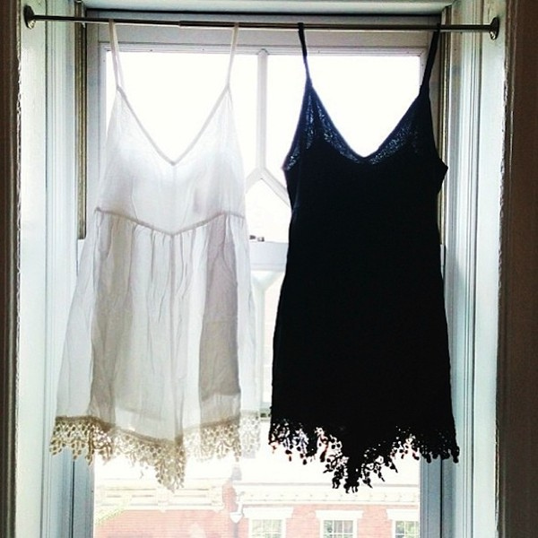 dress lace boho indie tumblr flowy lace trim lace dress white dress black dress tank dress