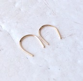 jewels,festive By Nature,open hoop earrings,tiny gold earrings,gift ideas,earrings,hoop earrings,gold hoops,jewelry,modern earrings