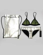 swimwear,bikini,silver,bottom,top