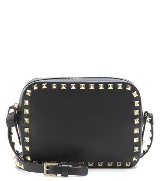 Valentino cross bag leather bag leather black
