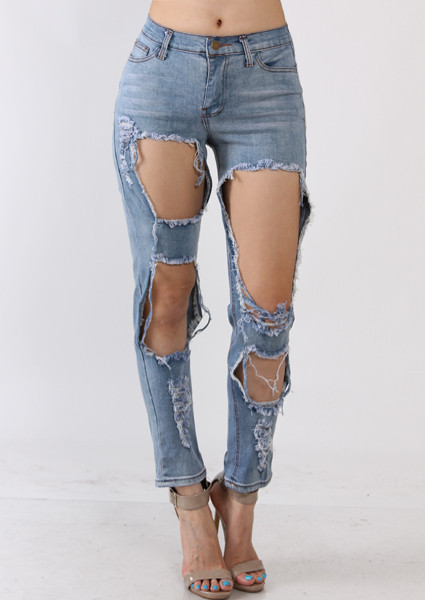 Light Wash Jeans