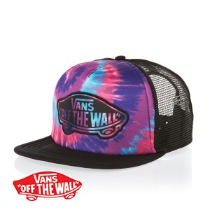 Vans Transport Trucker Cap - (Tie Dye) Pink/Purple | Free Delivery
