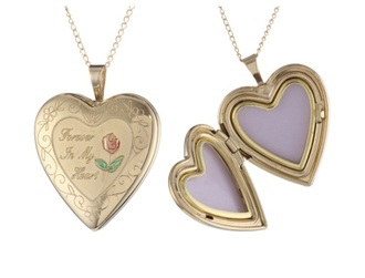 jewels gold heart necklace pendant