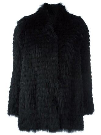 jacket women dog spandex cotton black