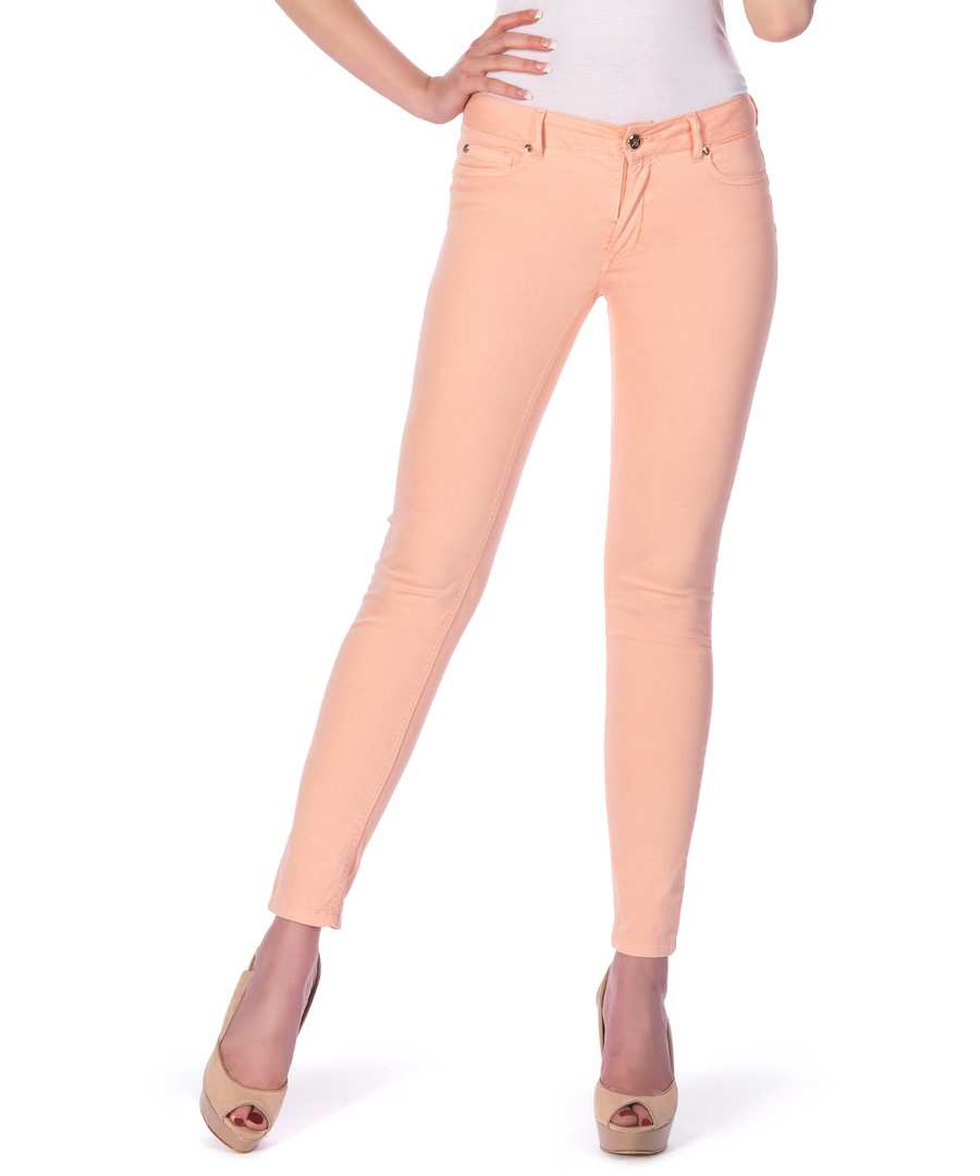 60% off - Peachy Pink Skinny Jeans in Peach, Designer Trousers & Jeans Sale, Peachy Pink, SECRETSALES
