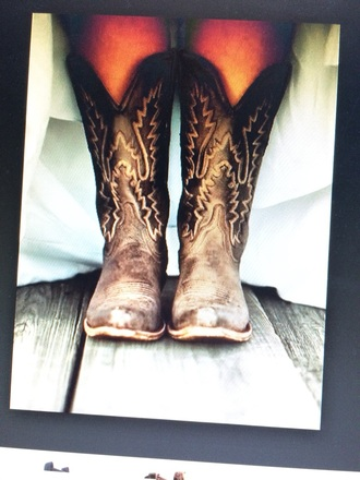 shoes brown leather boots white designs country wedding country style