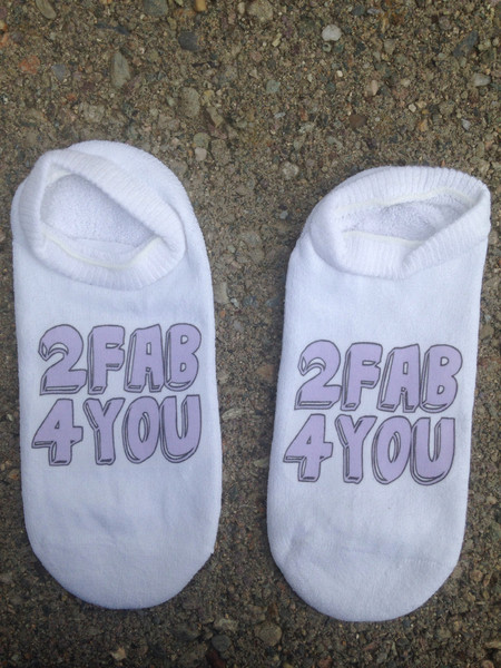 2 Fab 4 You Socks – shopforeverunique