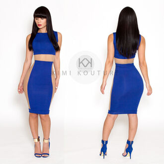 dress blue dress blue and gold shoes mesh dress mesh nude strappy heels gold heels open toe high heels sexy dress club dresses club dress 2014 clubwear