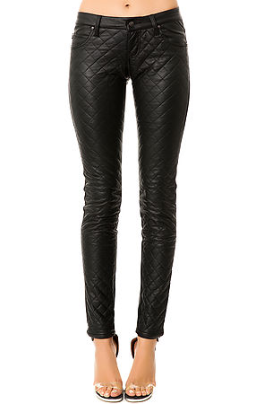 Tripp NYC The Quilted Faux Leather Pants : Karmaloop.com - Global Concrete Culture