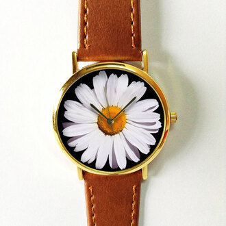 jewels watch handmade style fashion vintage etsy freeforme daisy flora floral flowers summer spring gift ideas new