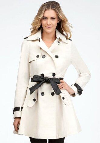 clothes bebe trench coat women