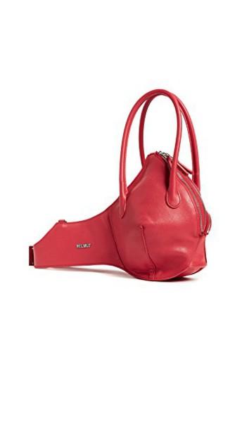 Helmut Lang bag purse shoulder bag red