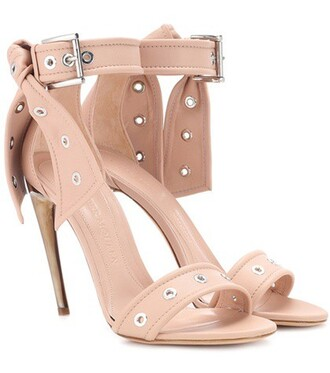 studded sandals leather sandals leather pink shoes