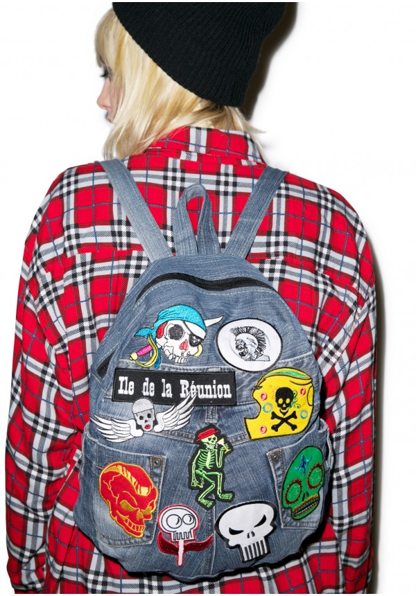 Kittiya naranong take my skull backpack